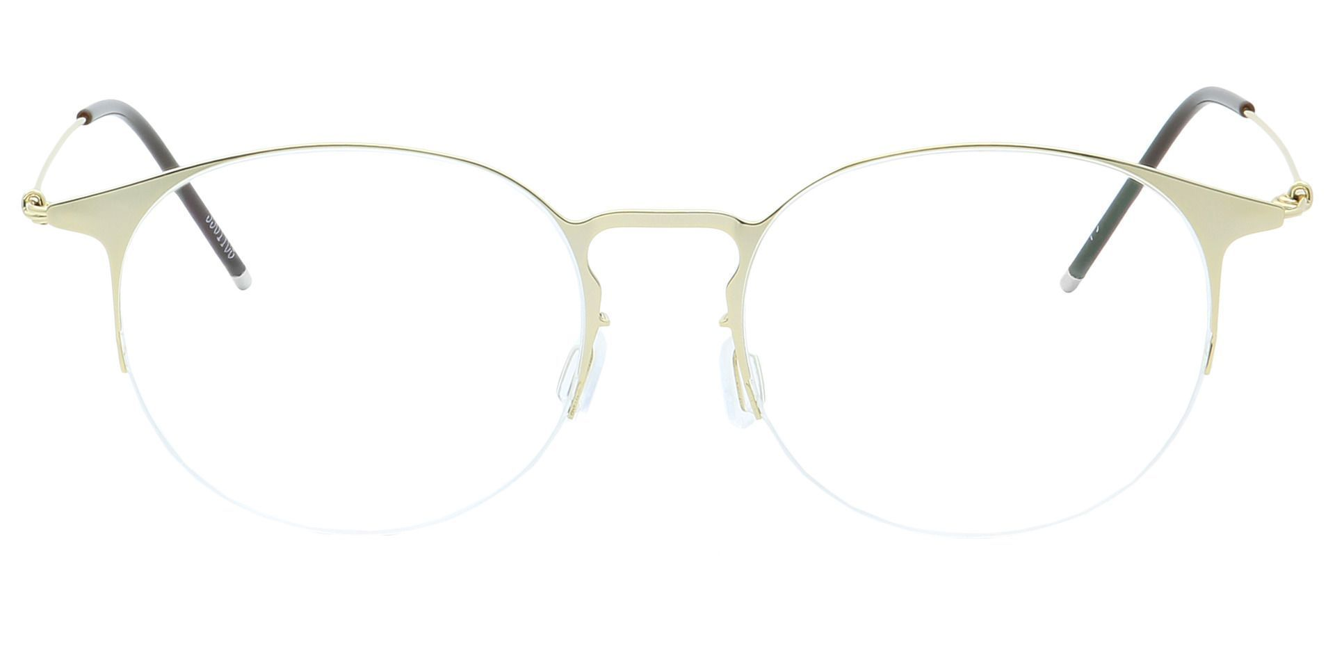 Howie Round Non-Rx Glasses - Yellow