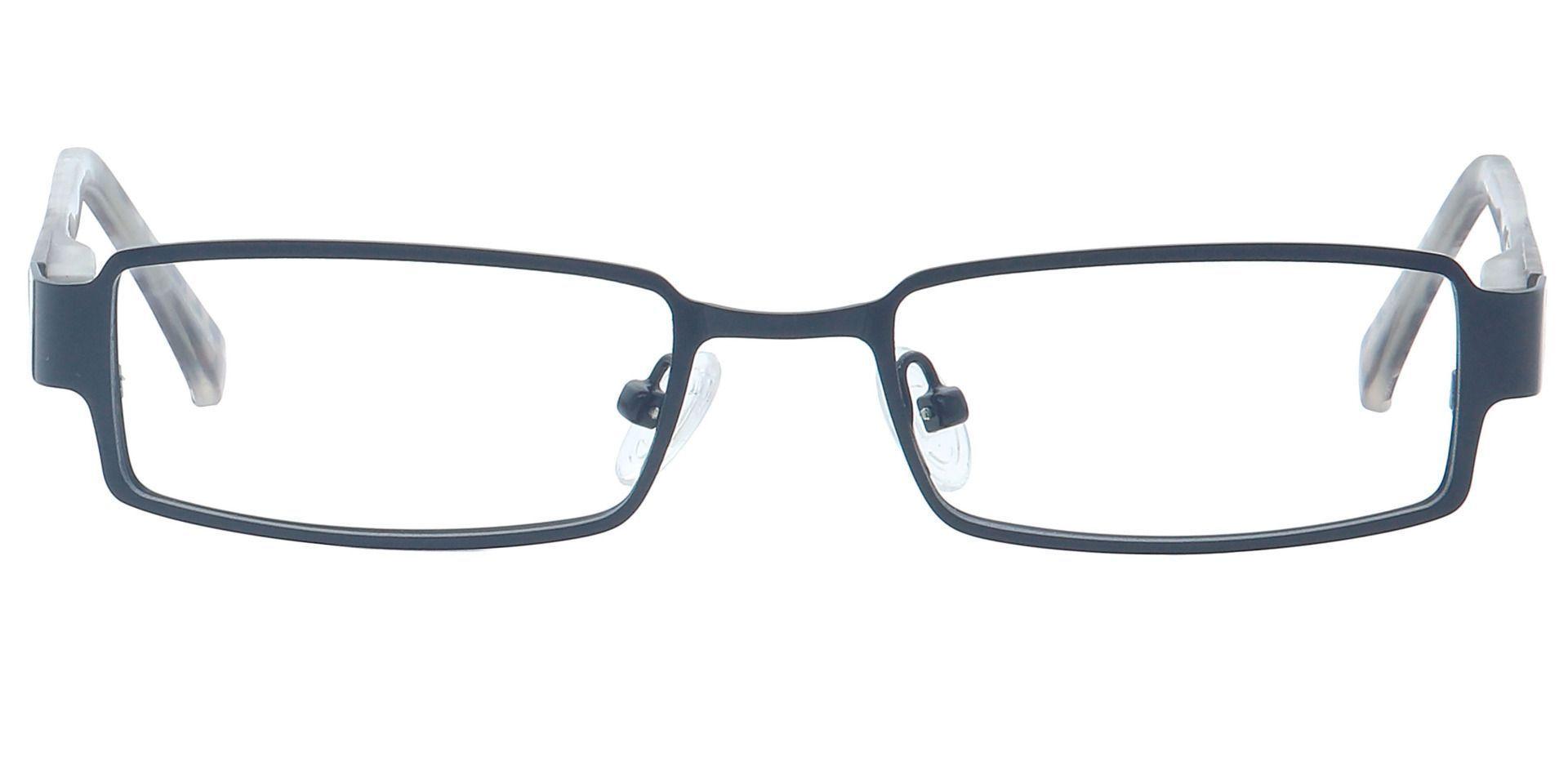 Ramsey Rectangle Non-Rx Glasses - Black