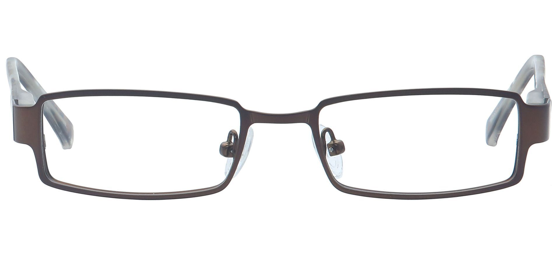 Ramsey Rectangle Non-Rx Glasses - Brown