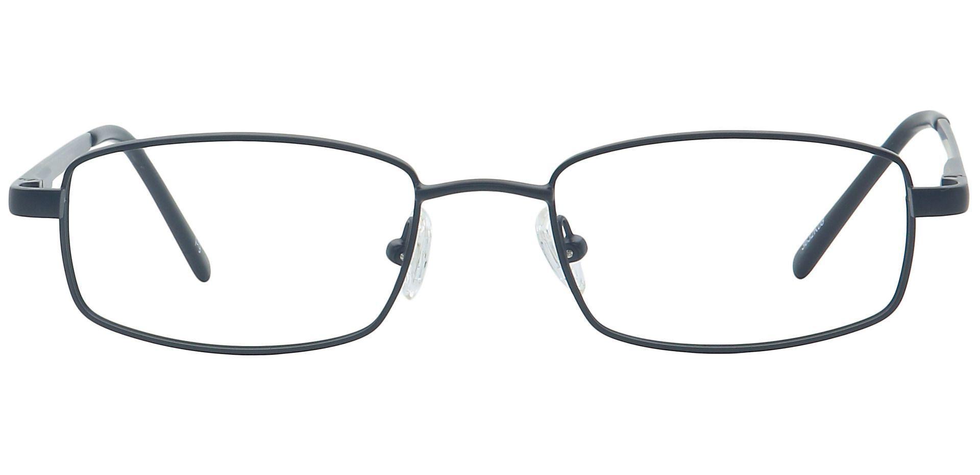 Sheldon Square Prescription Glasses - Black