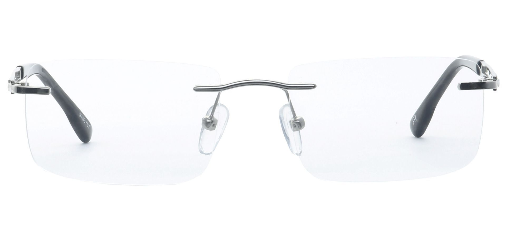 Ricky Rimless Reading Glasses - Yellow