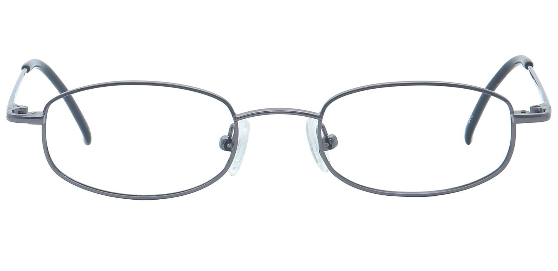 Orton Oval Non-Rx Glasses - Gray