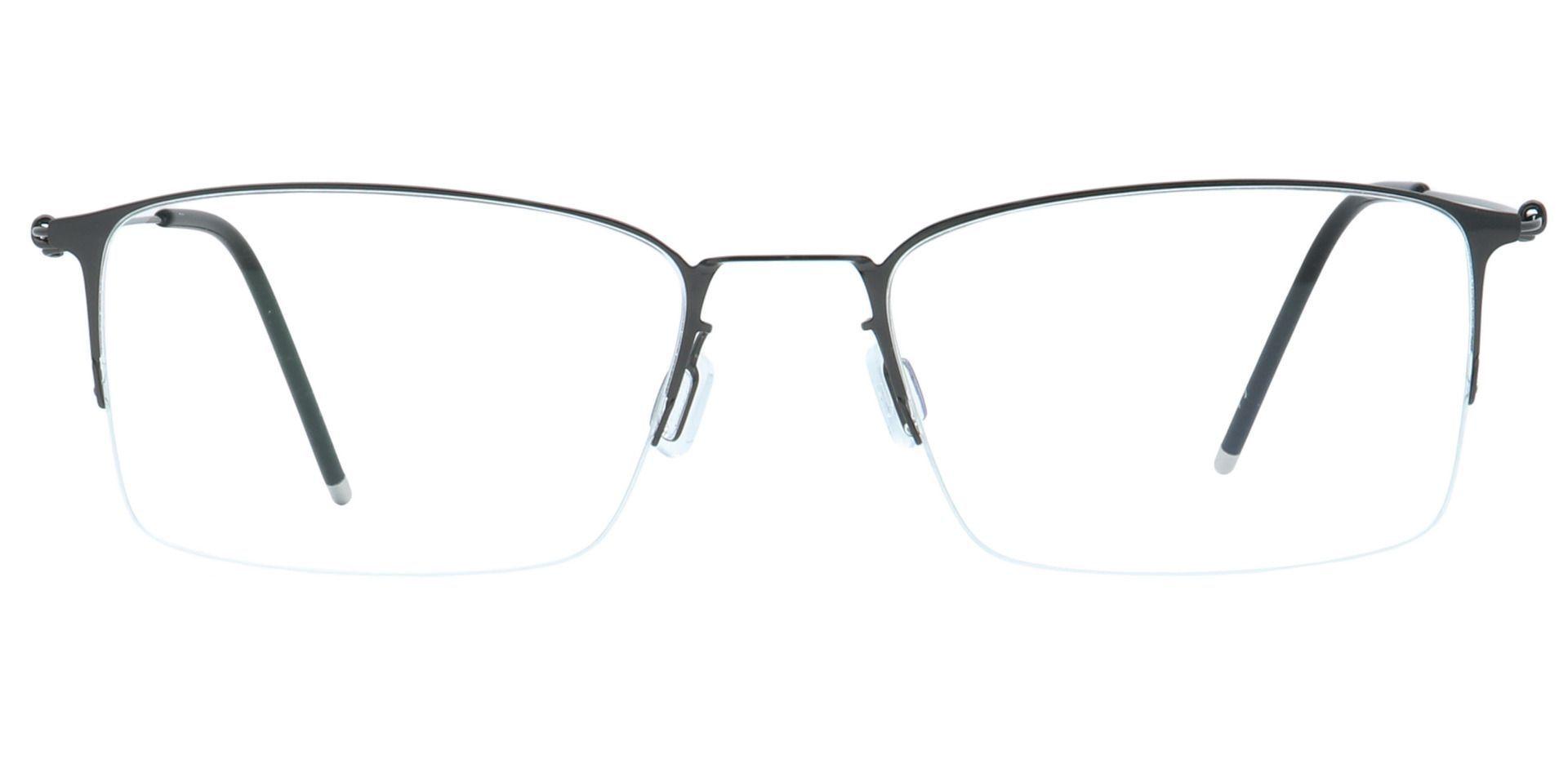 Shaw Square Non-Rx Glasses - Black