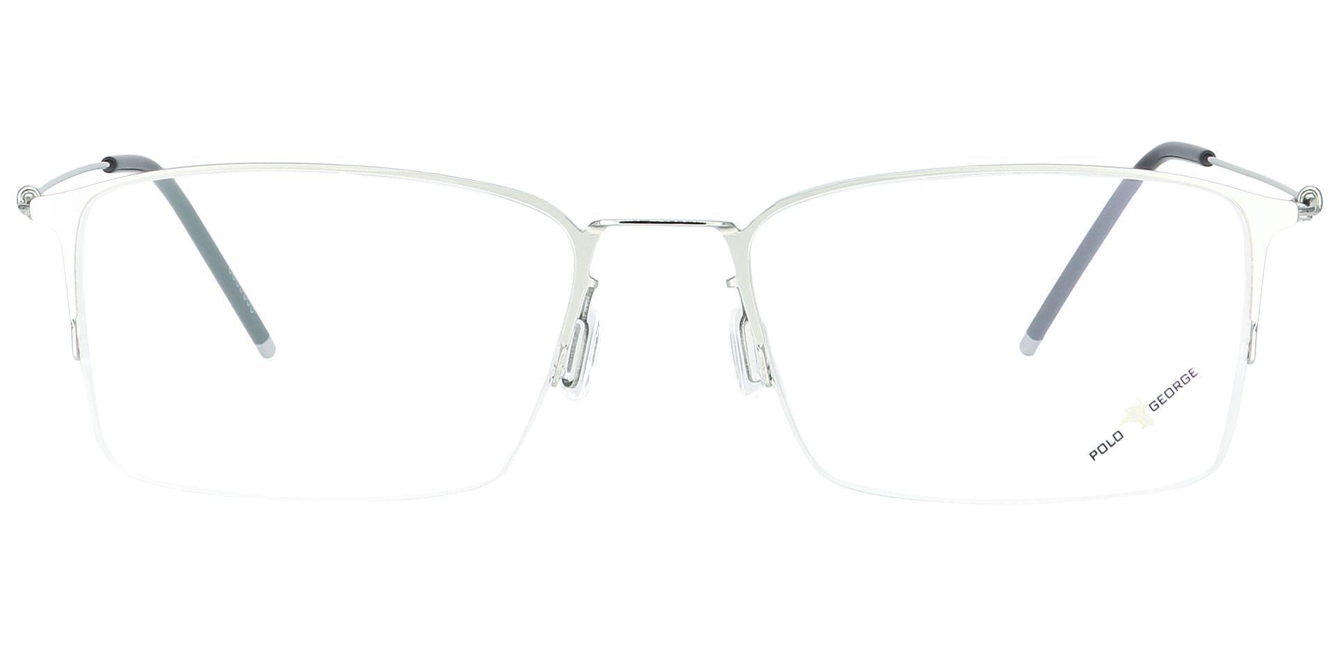Shaw Square Blue Light Blocking Glasses - Clear