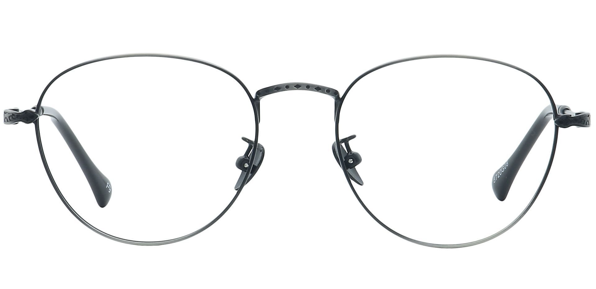 Shawn Oval Non-Rx Glasses - Gray