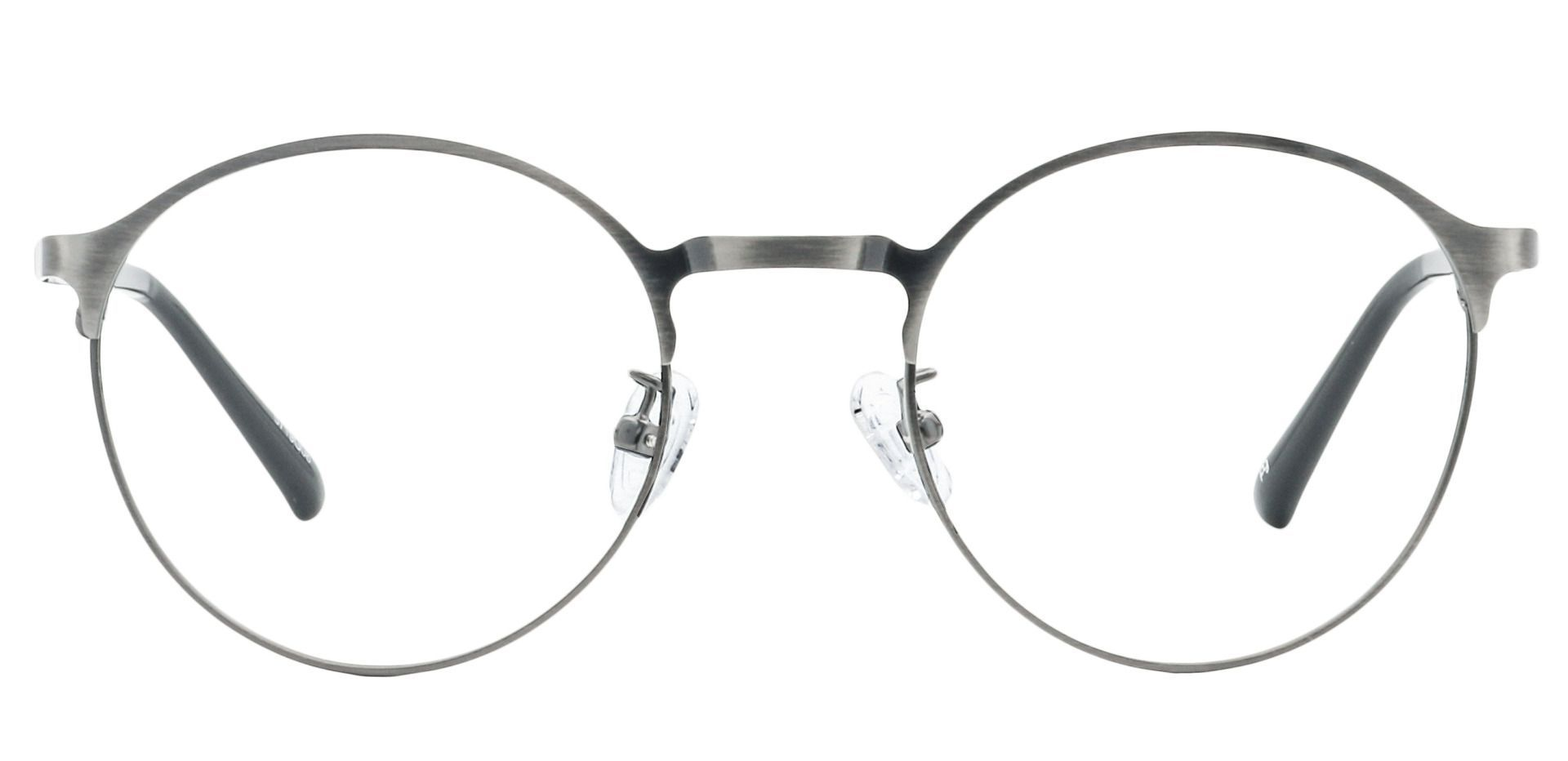 Perry Round Reading Glasses - Gray