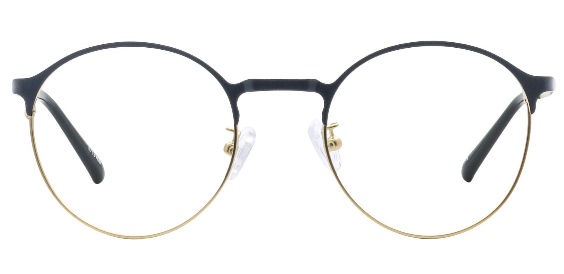 Perry Round Prescription Glasses - Yellow