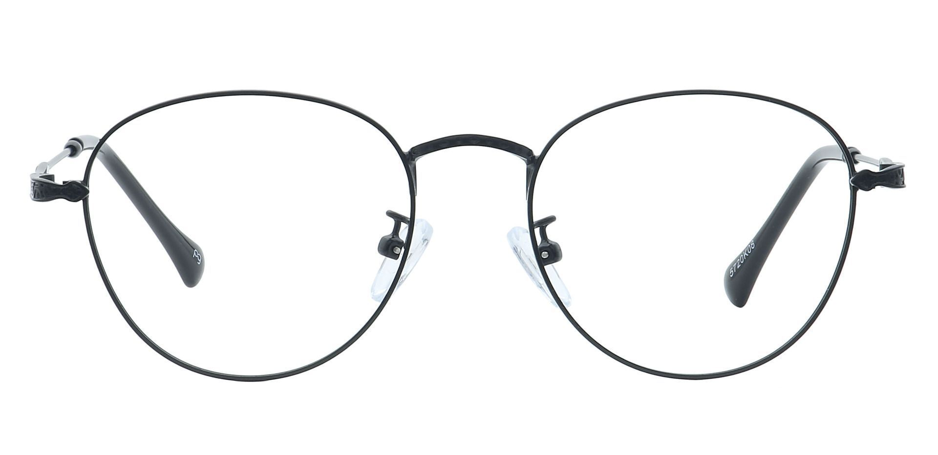 Shawn Oval Prescription Glasses - Black