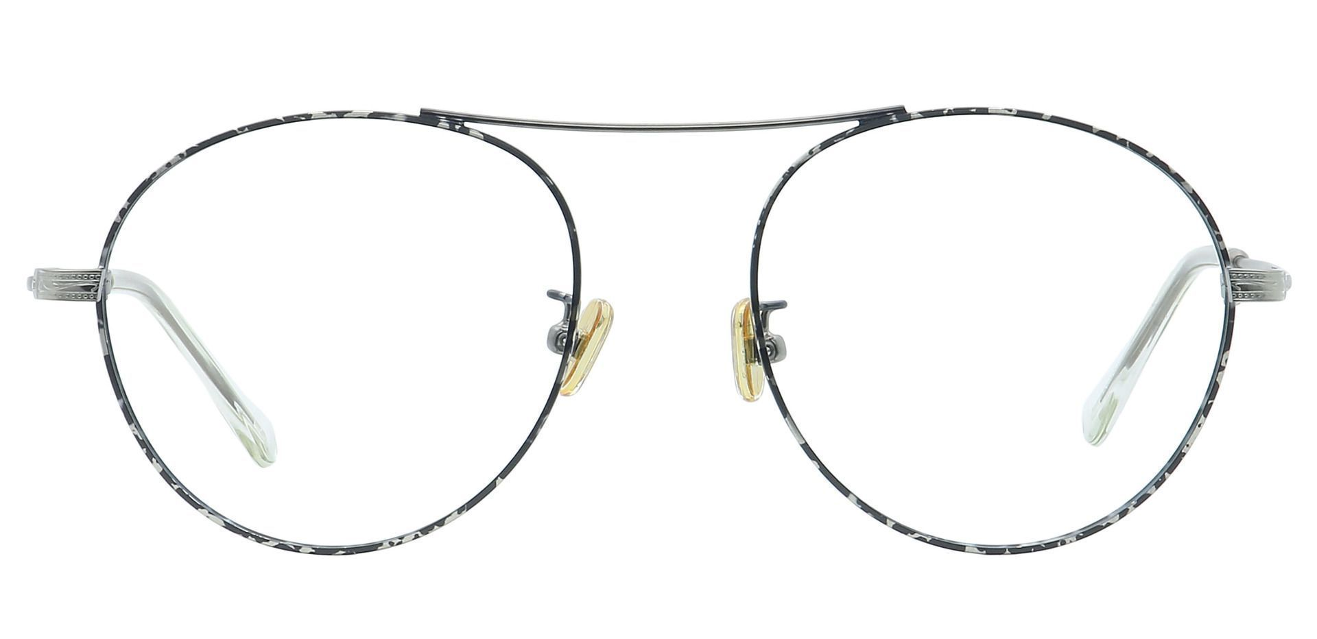 Finn Round Prescription Glasses - Gray