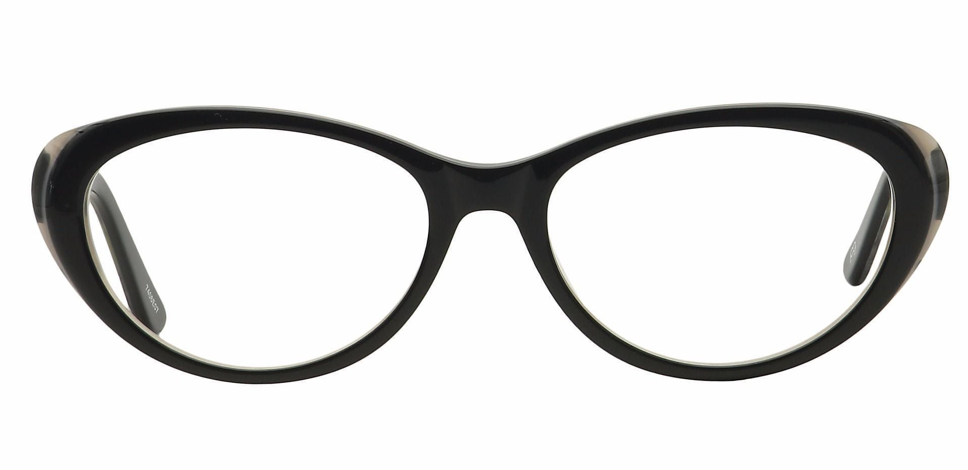 Asta Cat-Eye Progressive Glasses - Black