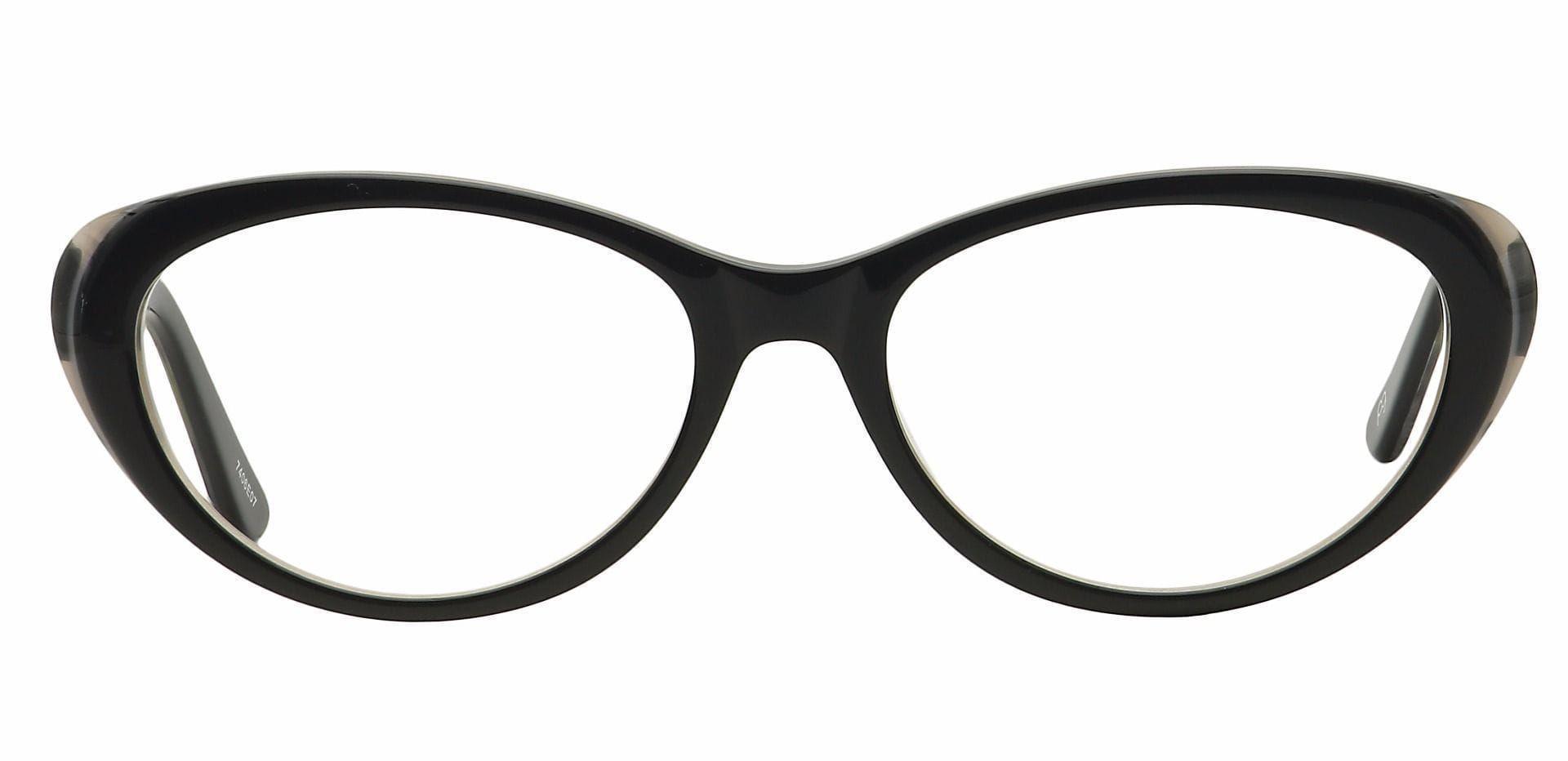 Asta Cat-Eye Reading Glasses - Black