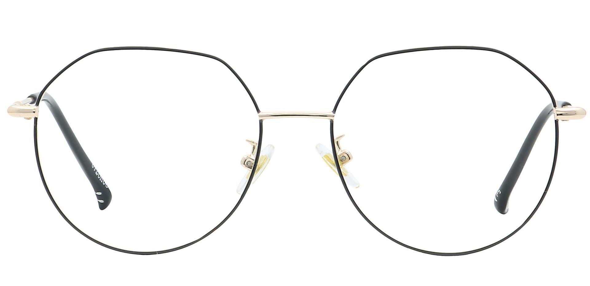 Wesley Round Prescription Glasses - Black