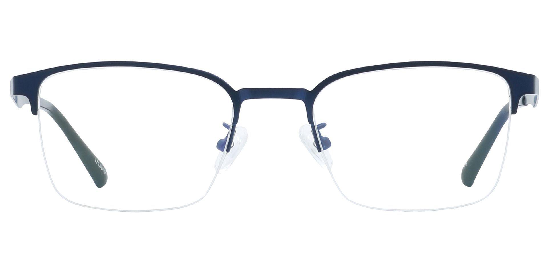Eden Square Prescription Glasses - Blue