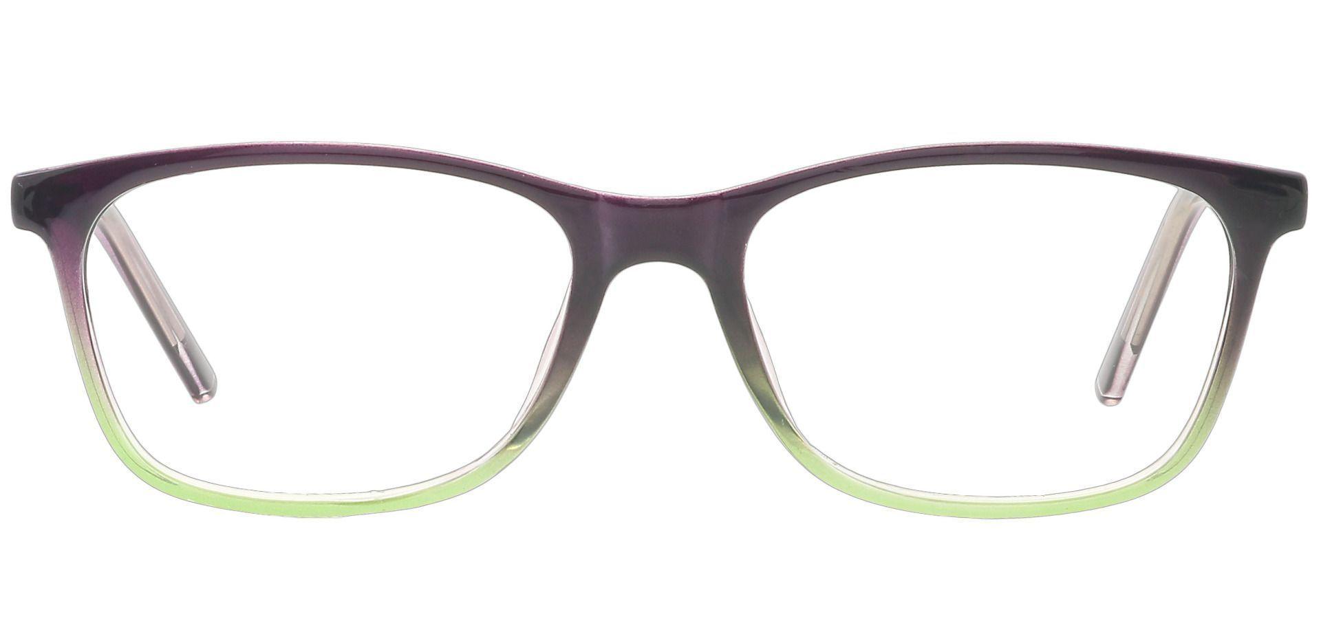 Safita Oval Lined Bifocal Glasses - Purple