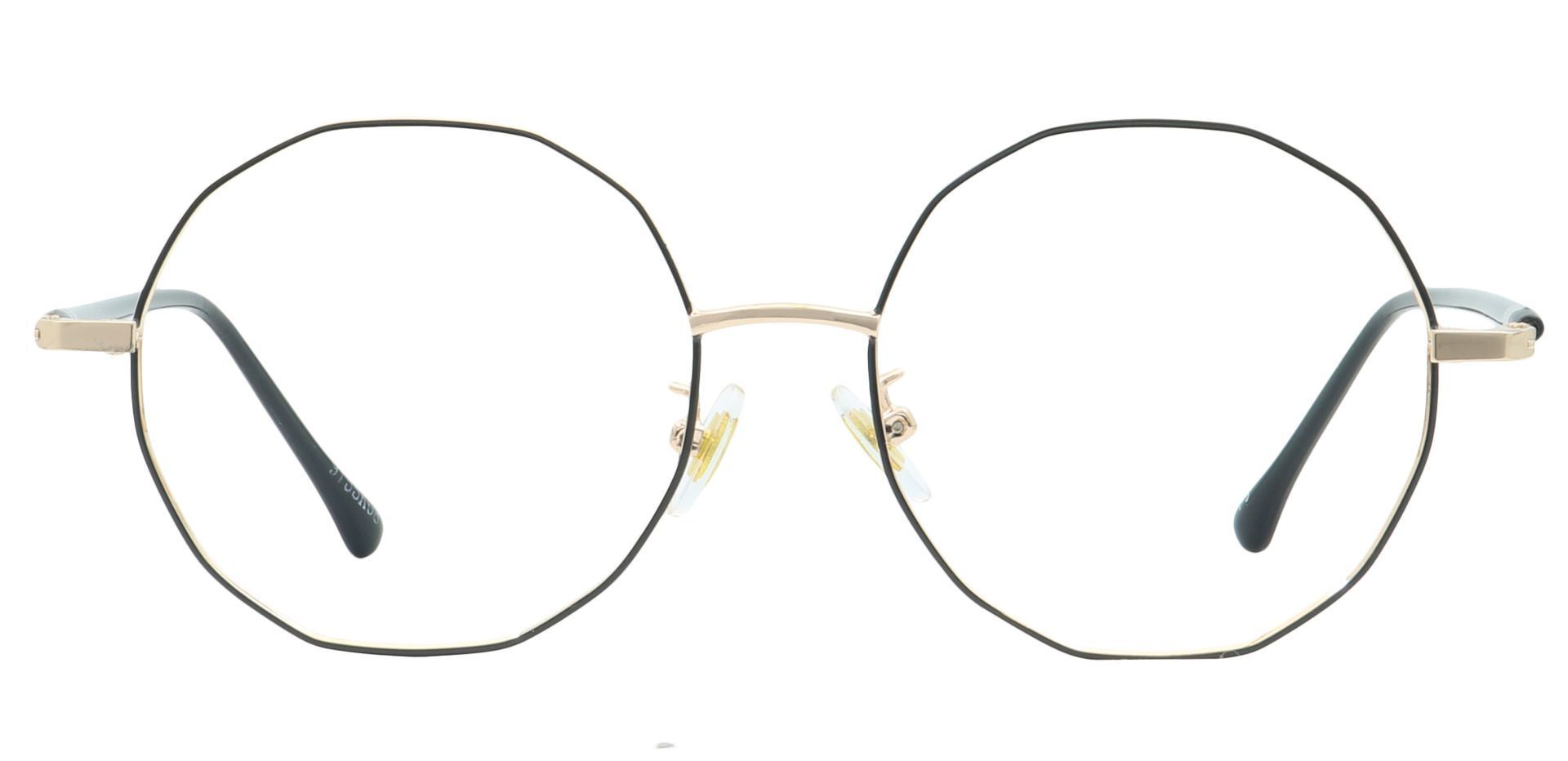 Niles Round Prescription Glasses - Black