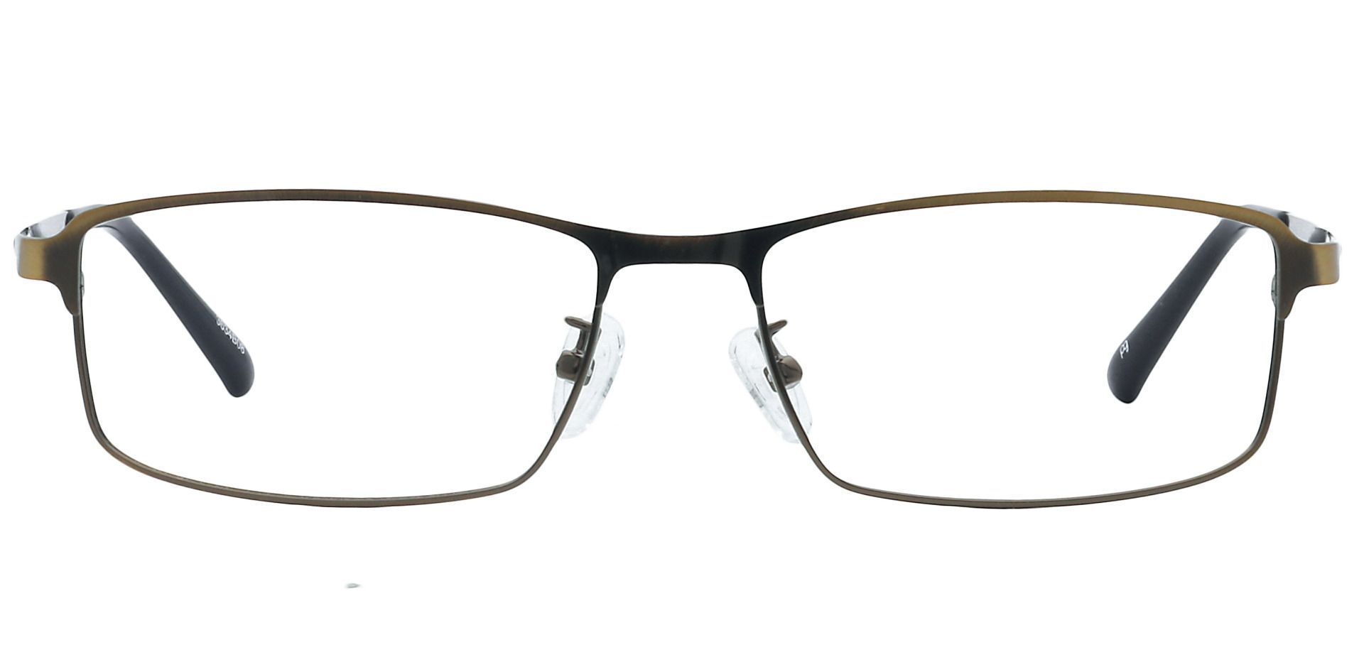 Scout Rectangle Lined Bifocal Glasses - Brown