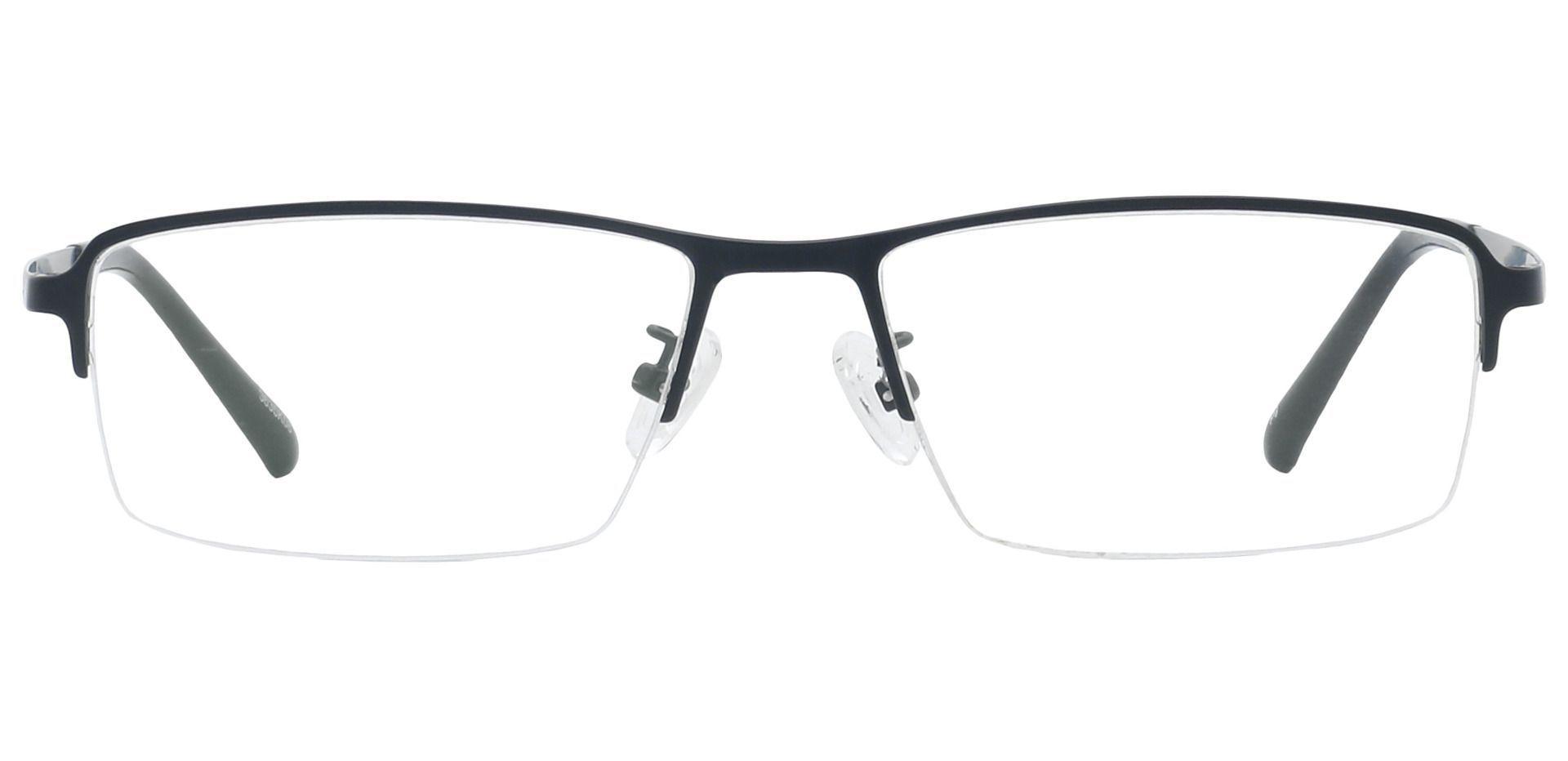 Channing Rectangle Progressive Glasses - Black