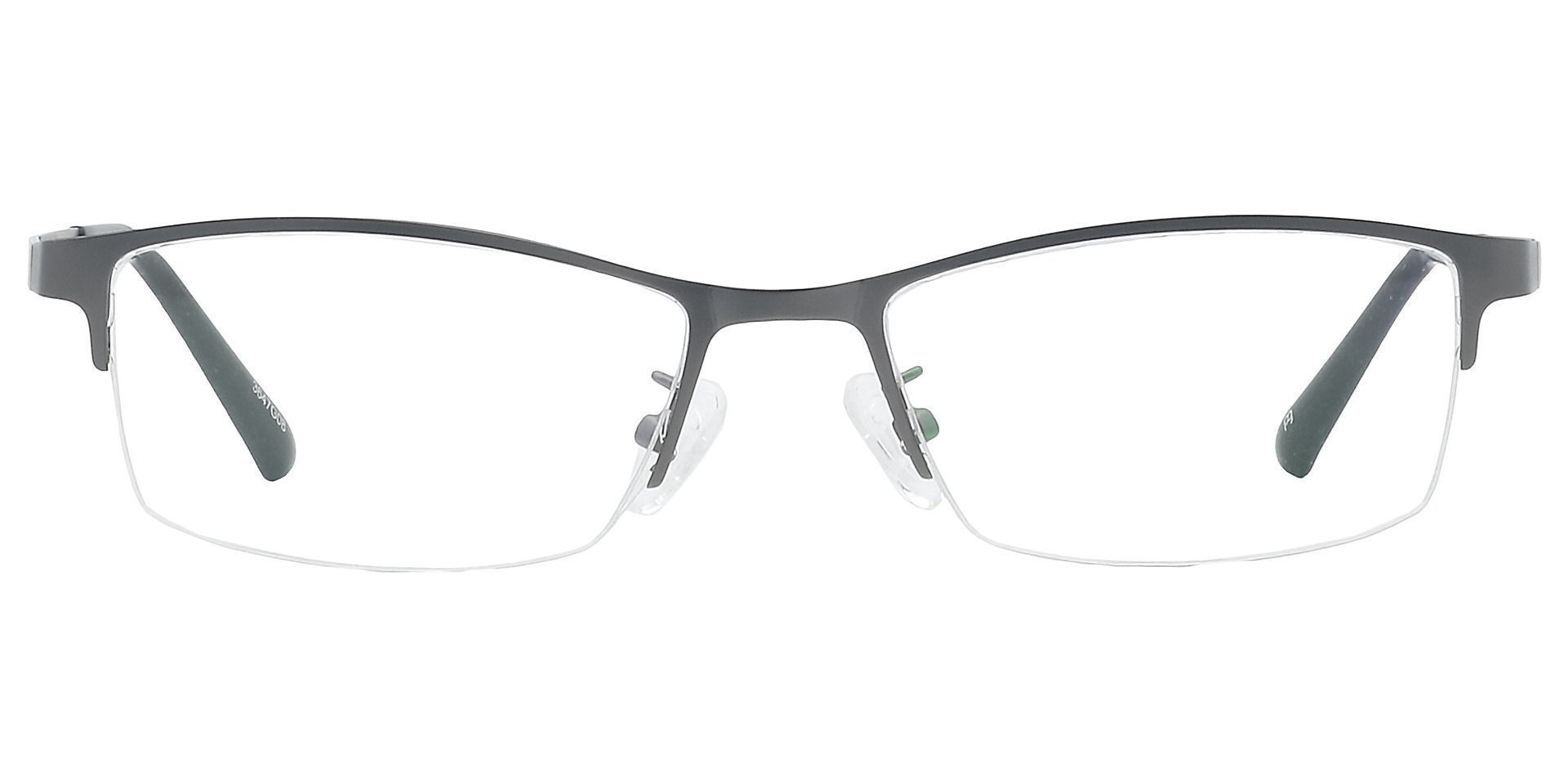 Willis Rectangle Progressive Glasses - Gray