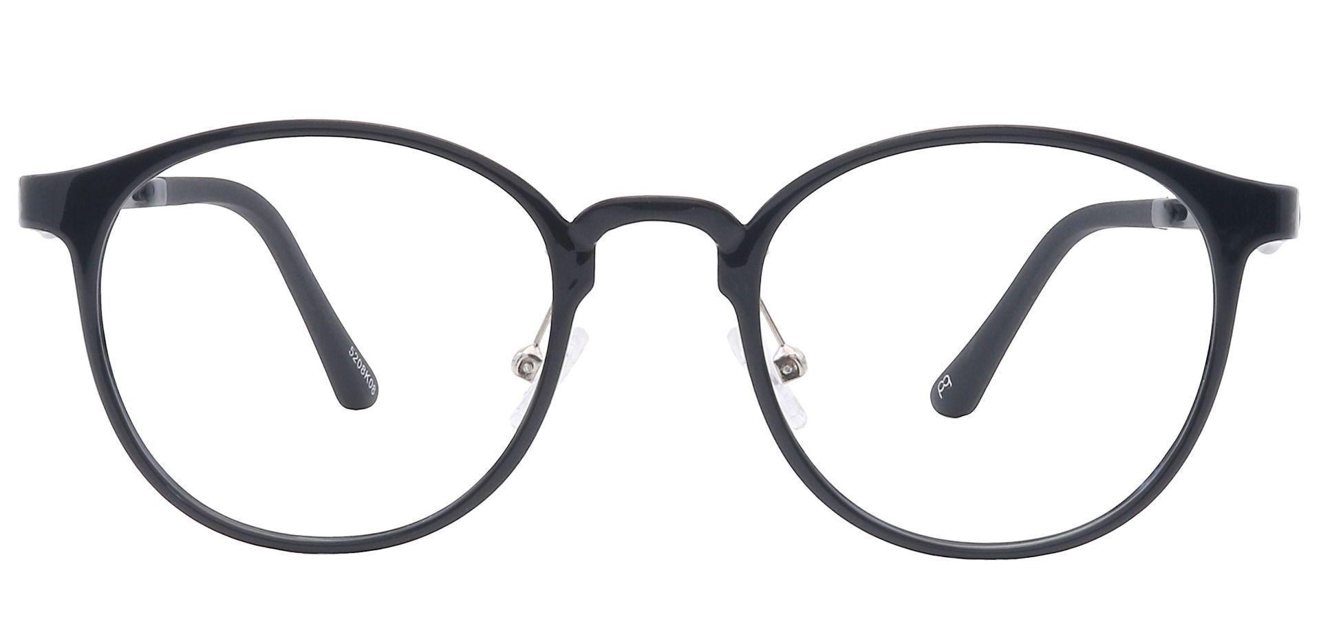 Nimbus Oval Non-Rx Glasses - Black