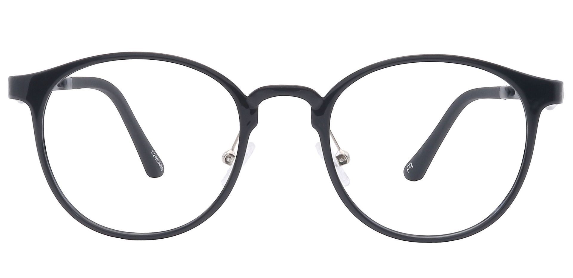 Nimbus Oval Progressive Glasses - Black