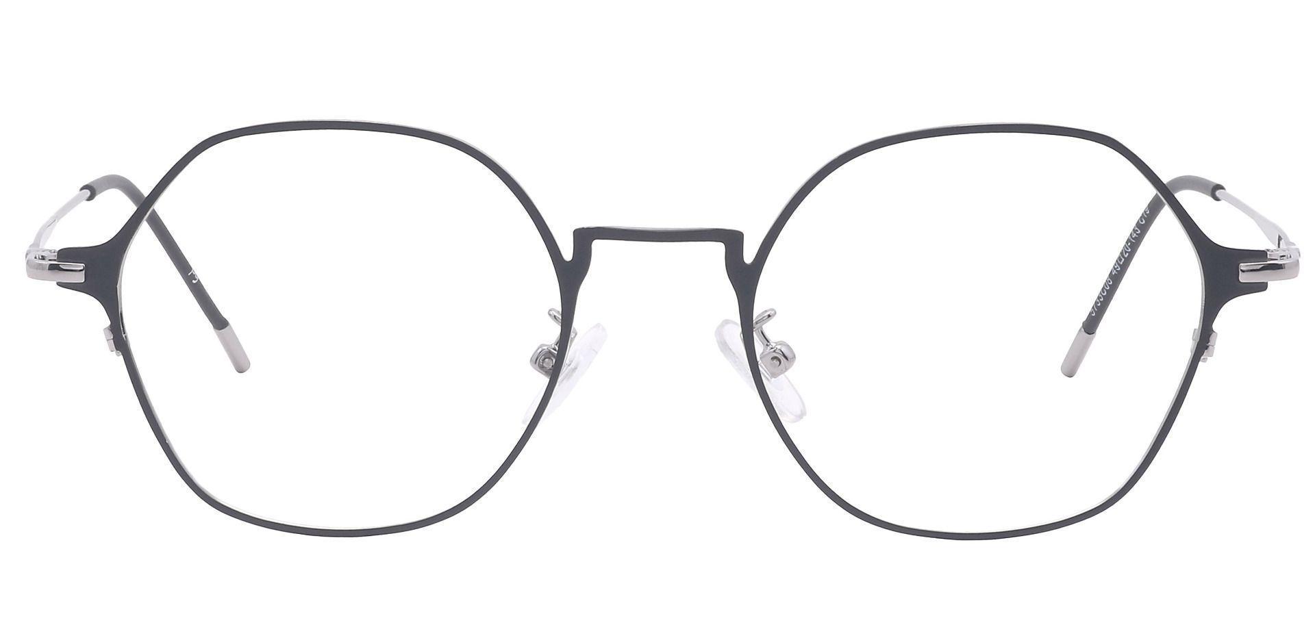 Nola Oval Progressive Glasses - Clear