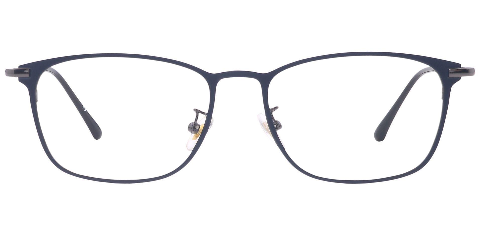 Jade Oval Lined Bifocal Glasses - Black