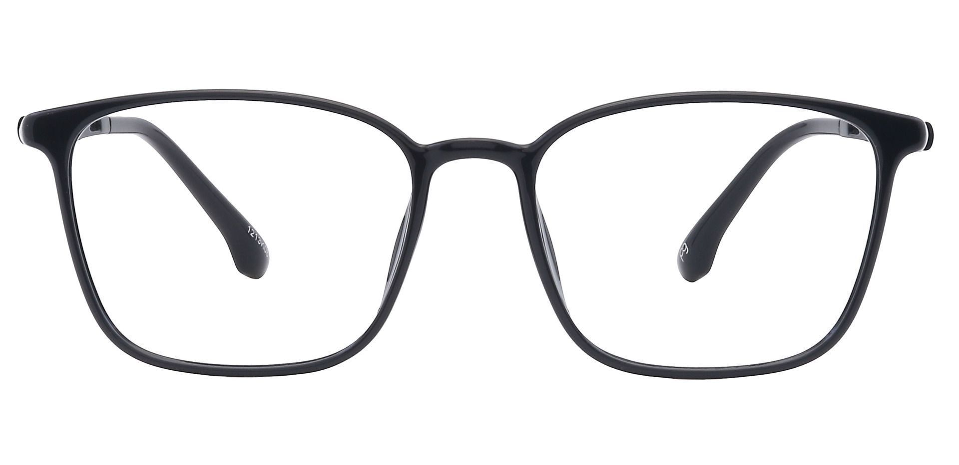 Darby Oval Prescription Glasses - Black