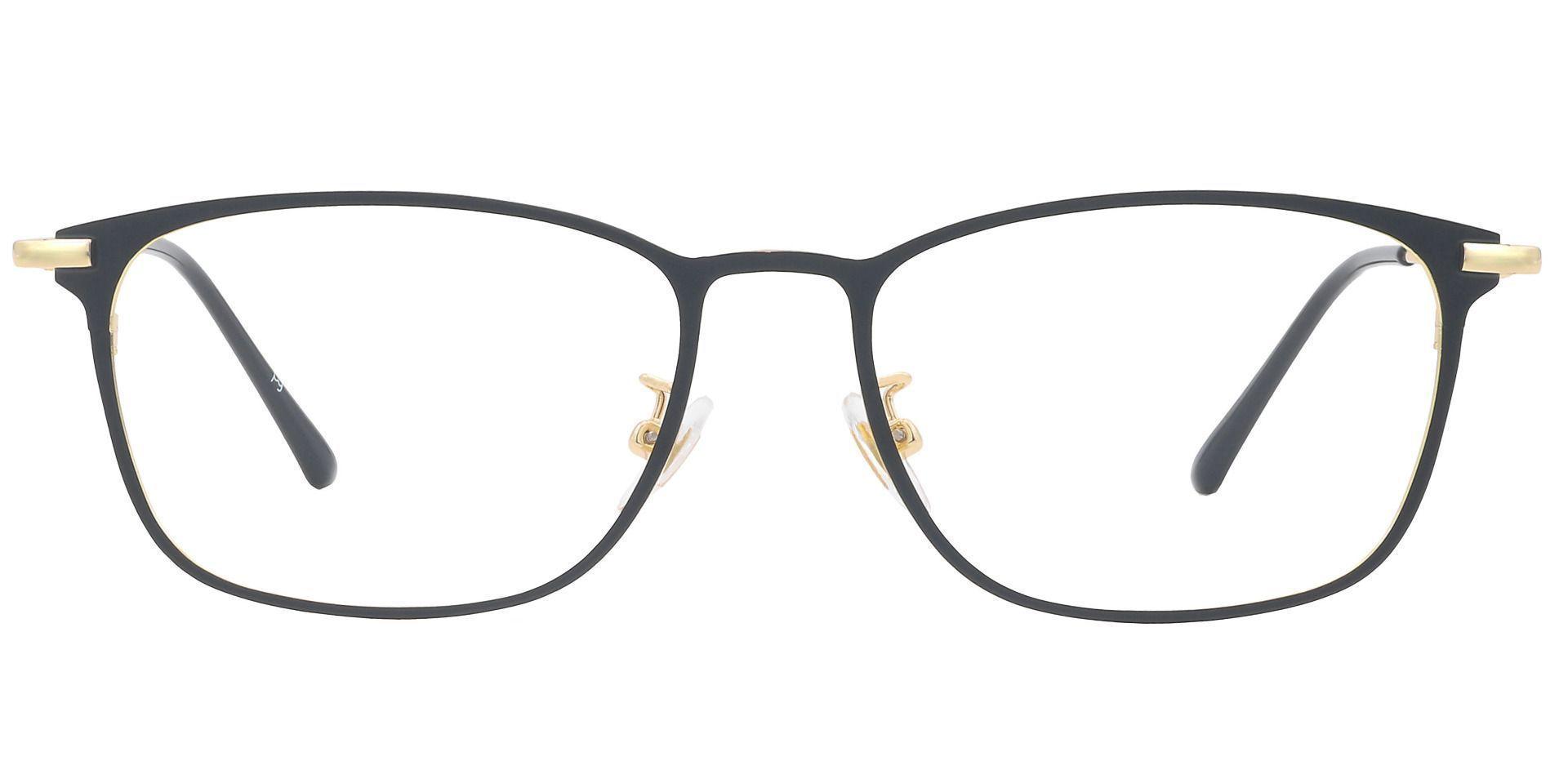 Jade Oval Progressive Glasses - Yellow