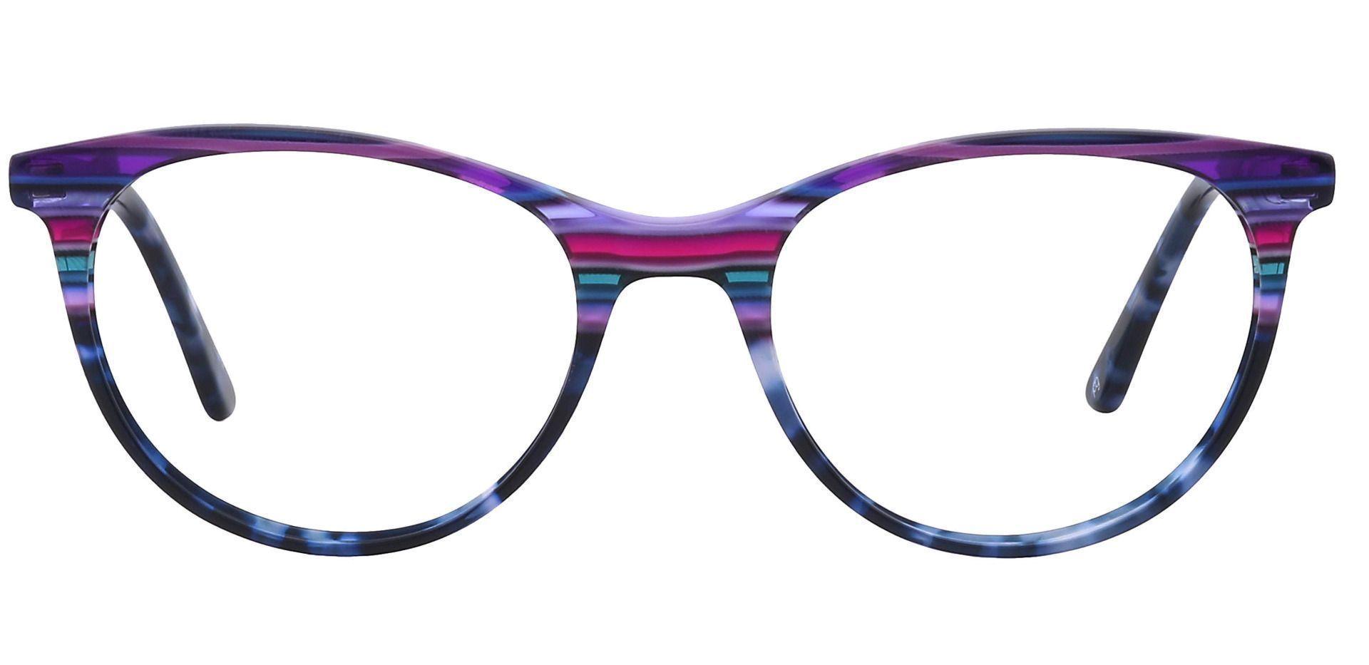 Patagonia Oval Prescription Glasses - Purple