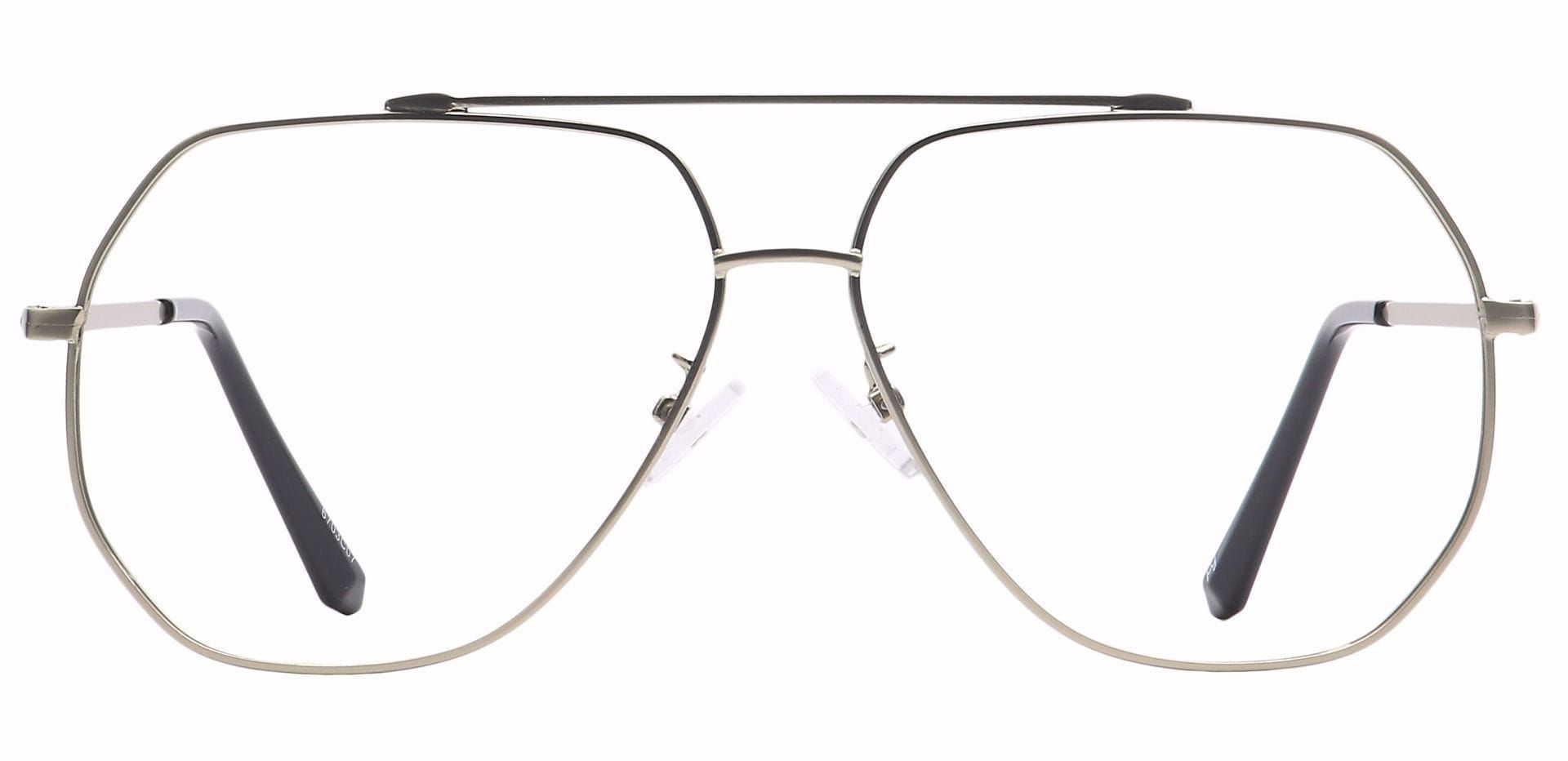 Flair Aviator Reading Glasses - Clear