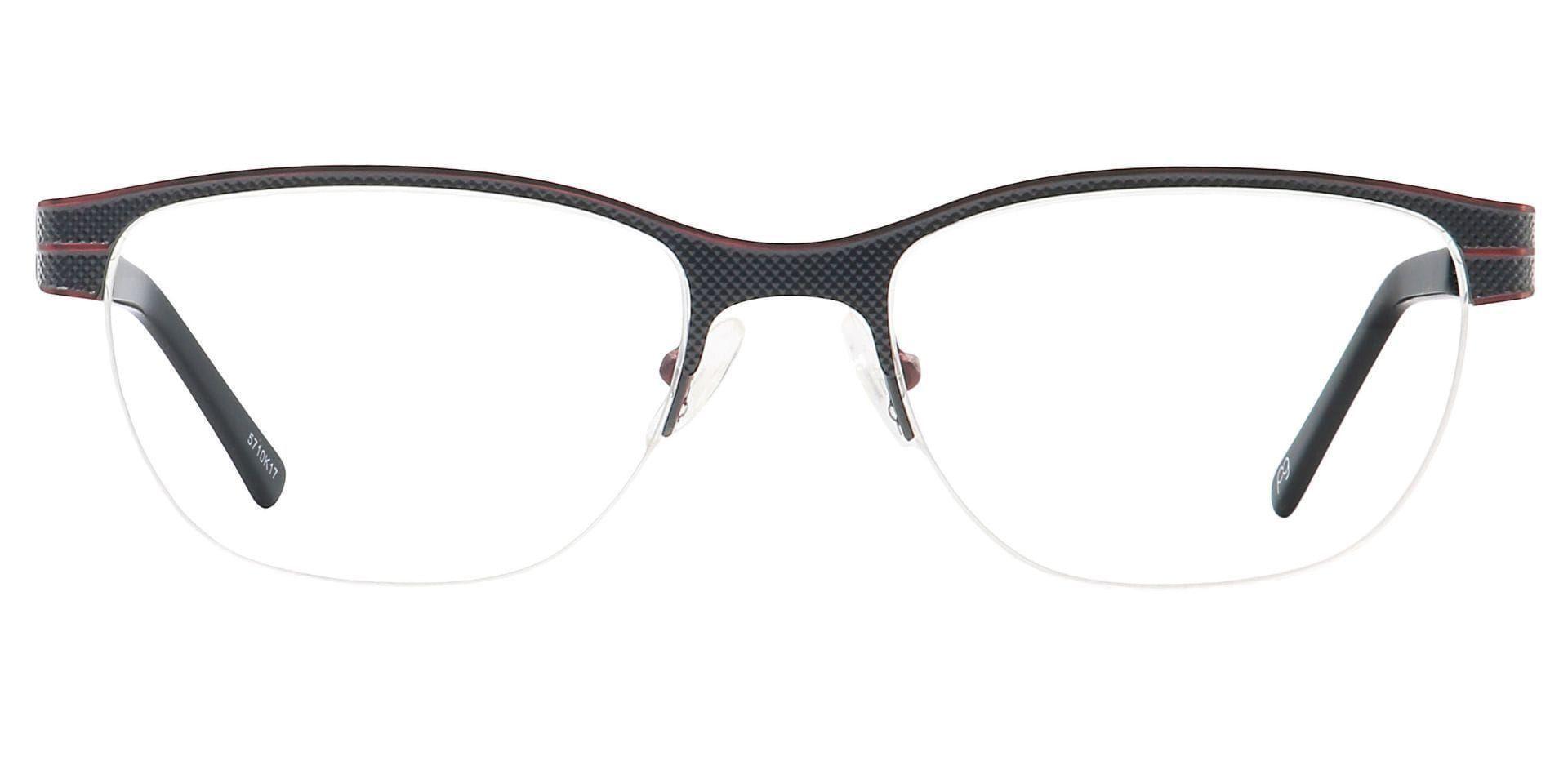 Arren Round Prescription Glasses - Red