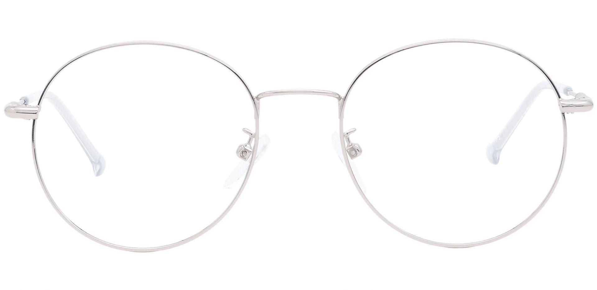 Magnus Round Progressive Glasses - Gray