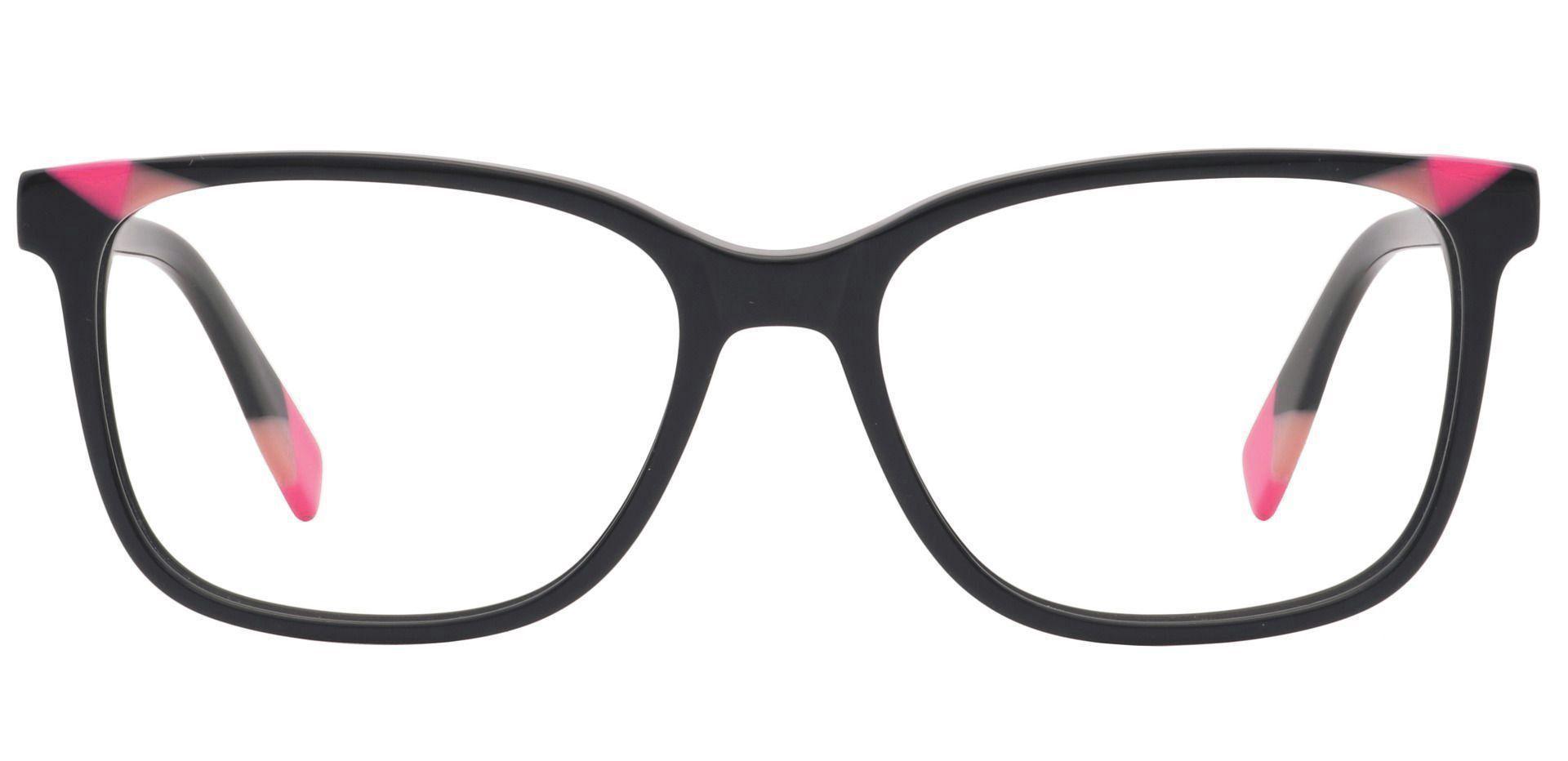 Odessa Square Prescription Glasses - Red