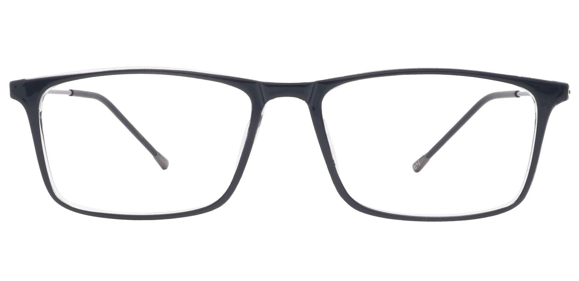 Finley Rectangle Prescription Glasses - Black
