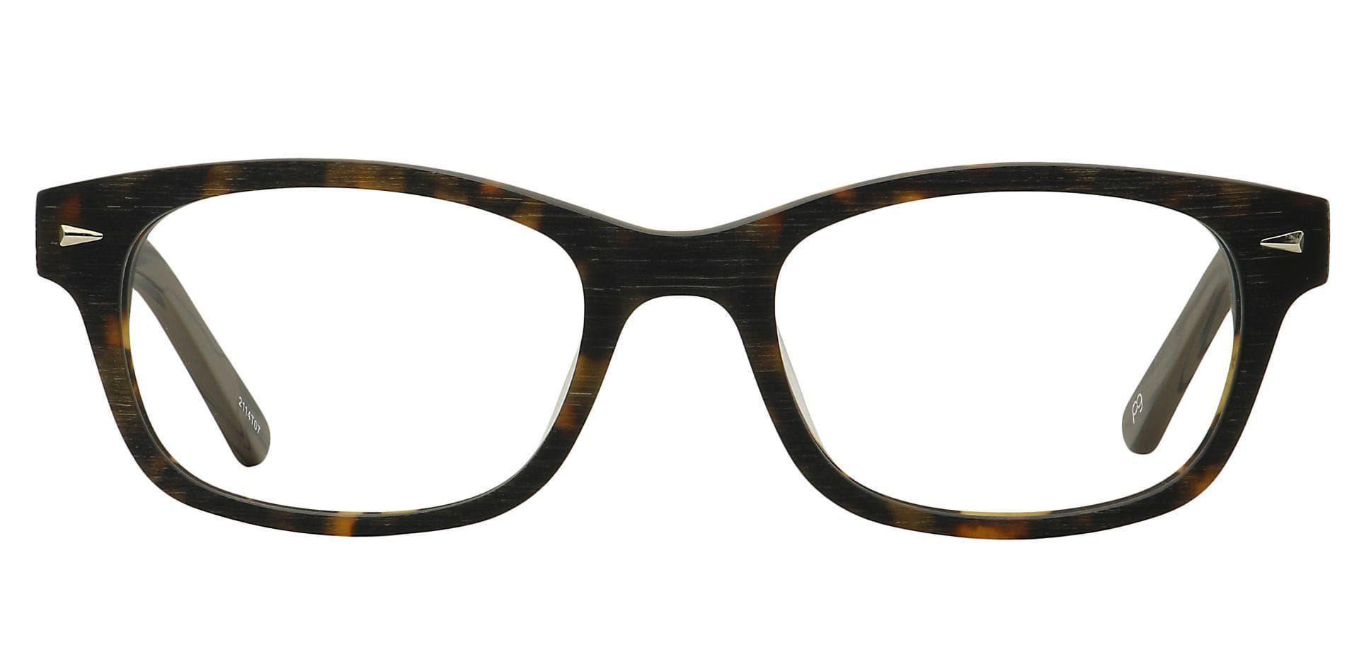 Timbre Rectangle Blue Light Blocking Glasses - Tortoise