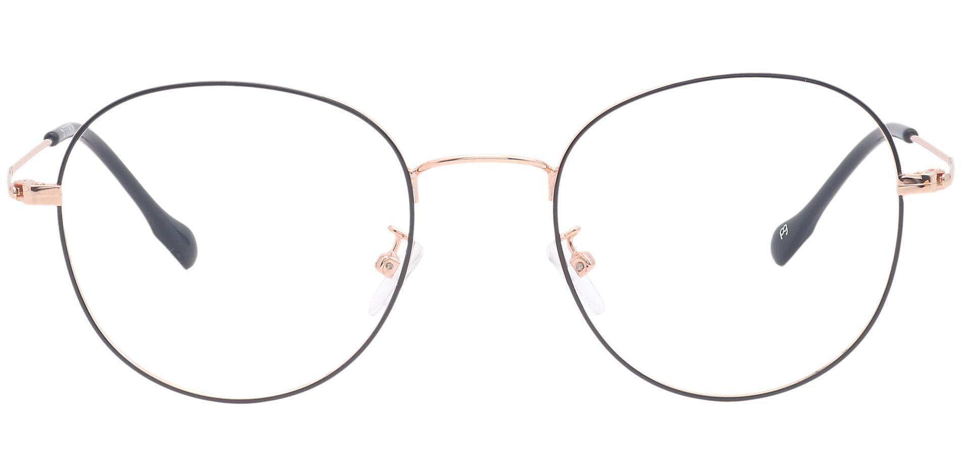 Miller Oval Prescription Glasses - Black
