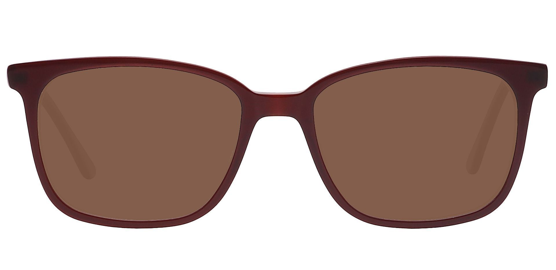 Fern Square Prescription Sunglasses - Brown Frame With Brown Lenses