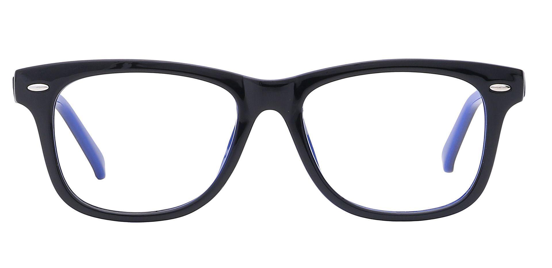 Dexter Oval Prescription Glasses - Blue