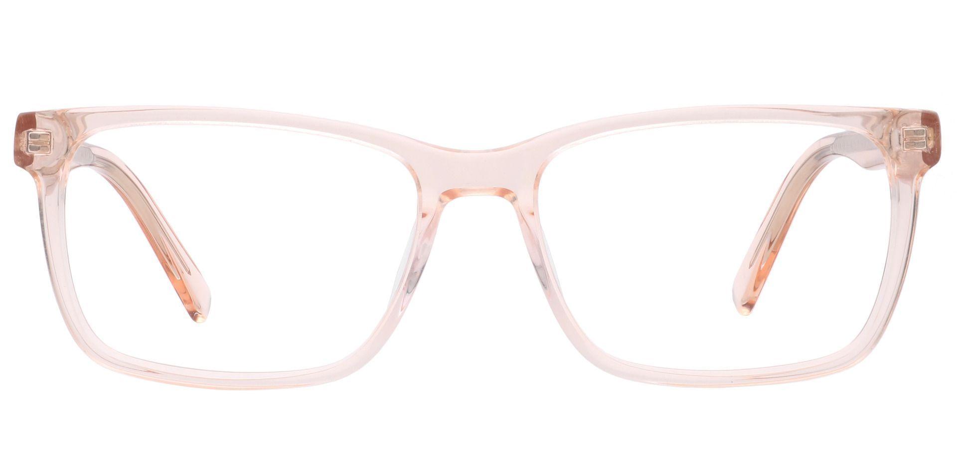 Galaxy Rectangle Progressive Glasses - Orange