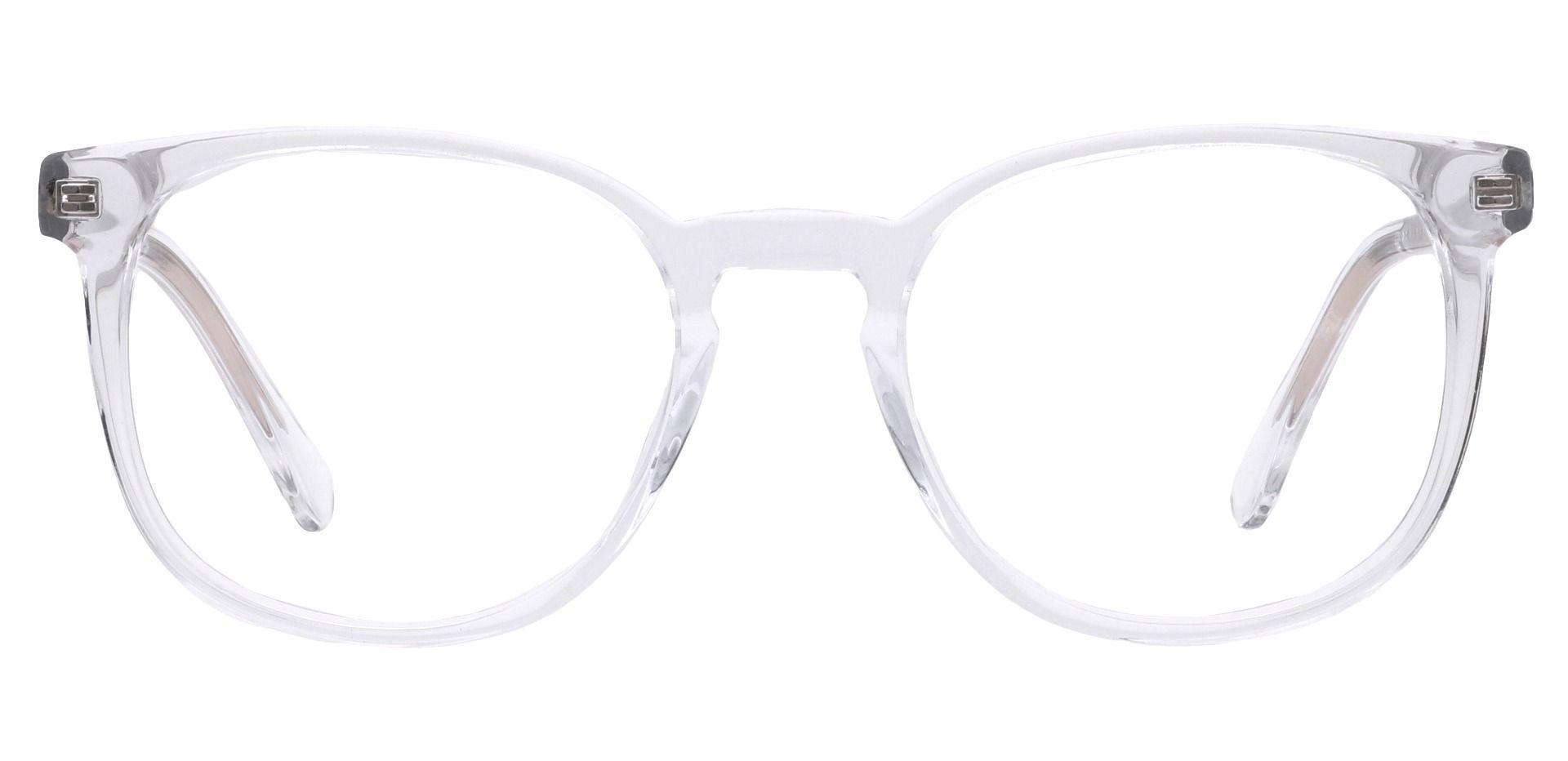 Nebula Round Prescription Glasses - Clear