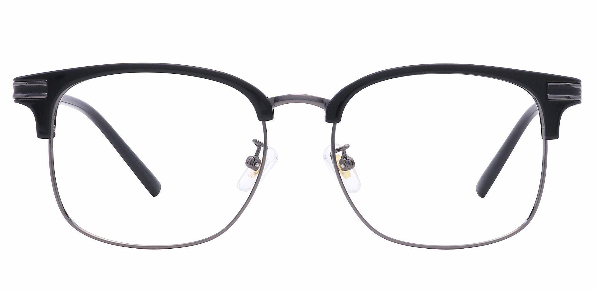Cafe Browline Prescription Glasses - Black