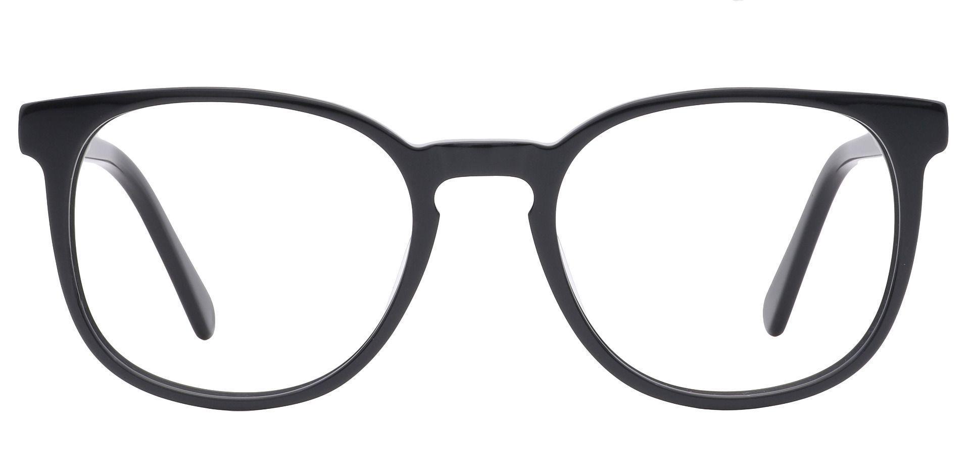 Nebula Round Prescription Glasses - Black