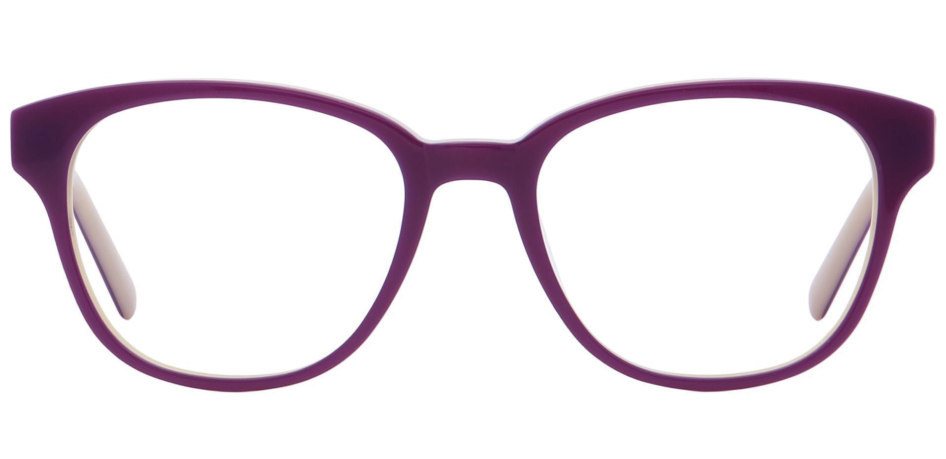 Elan Classic Square Progressive Glasses - Purple