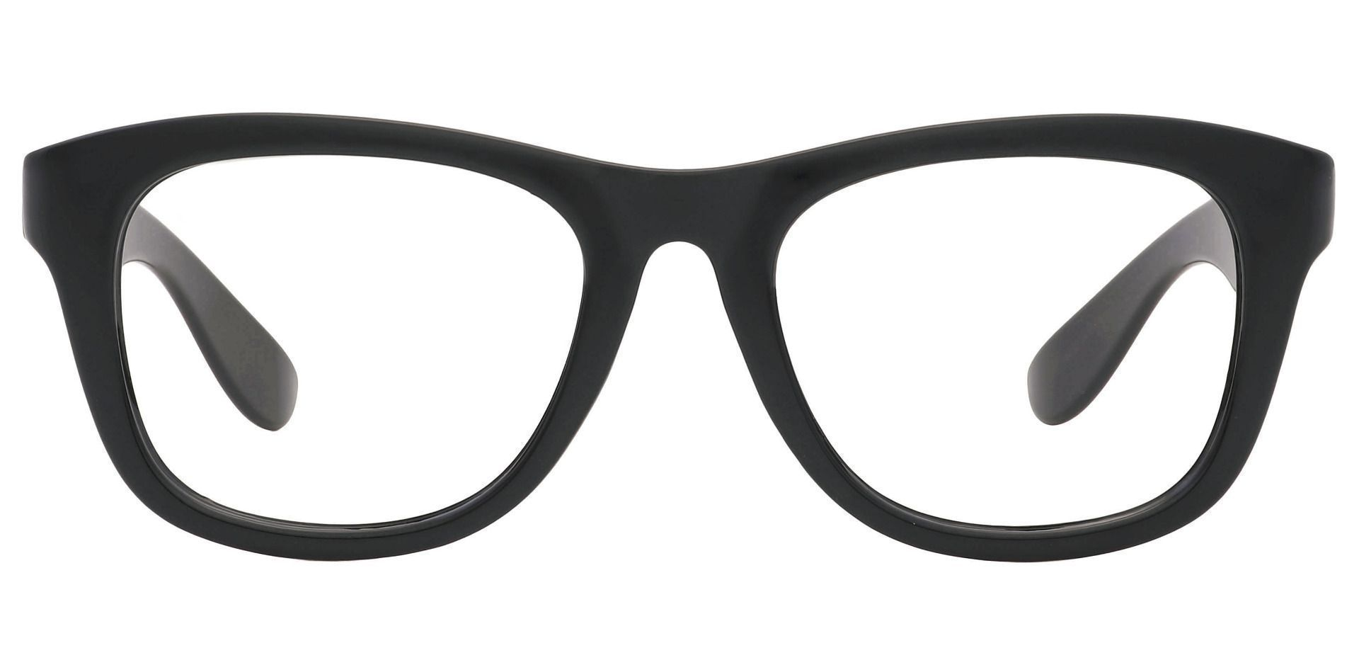 Callie Square Prescription Glasses - Black