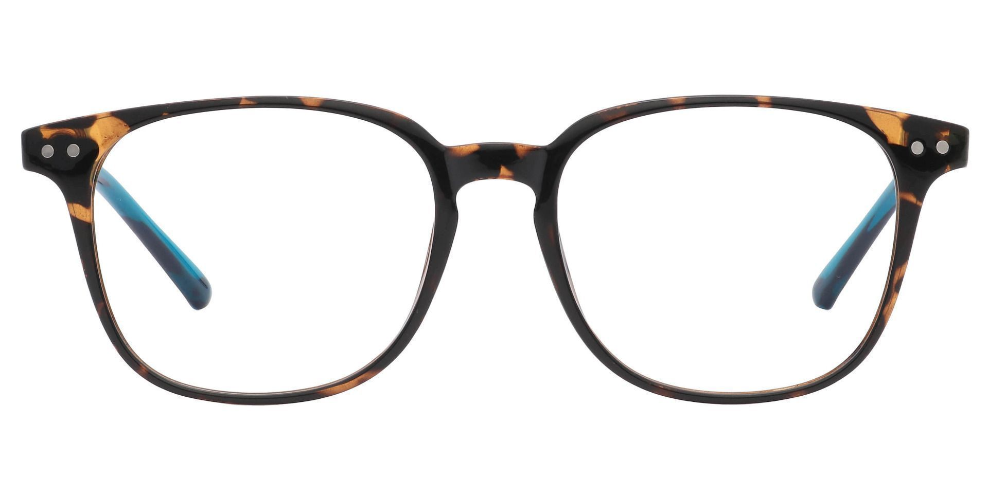 Ravine Oval Prescription Glasses - The Frame Is Tortoise And Blue