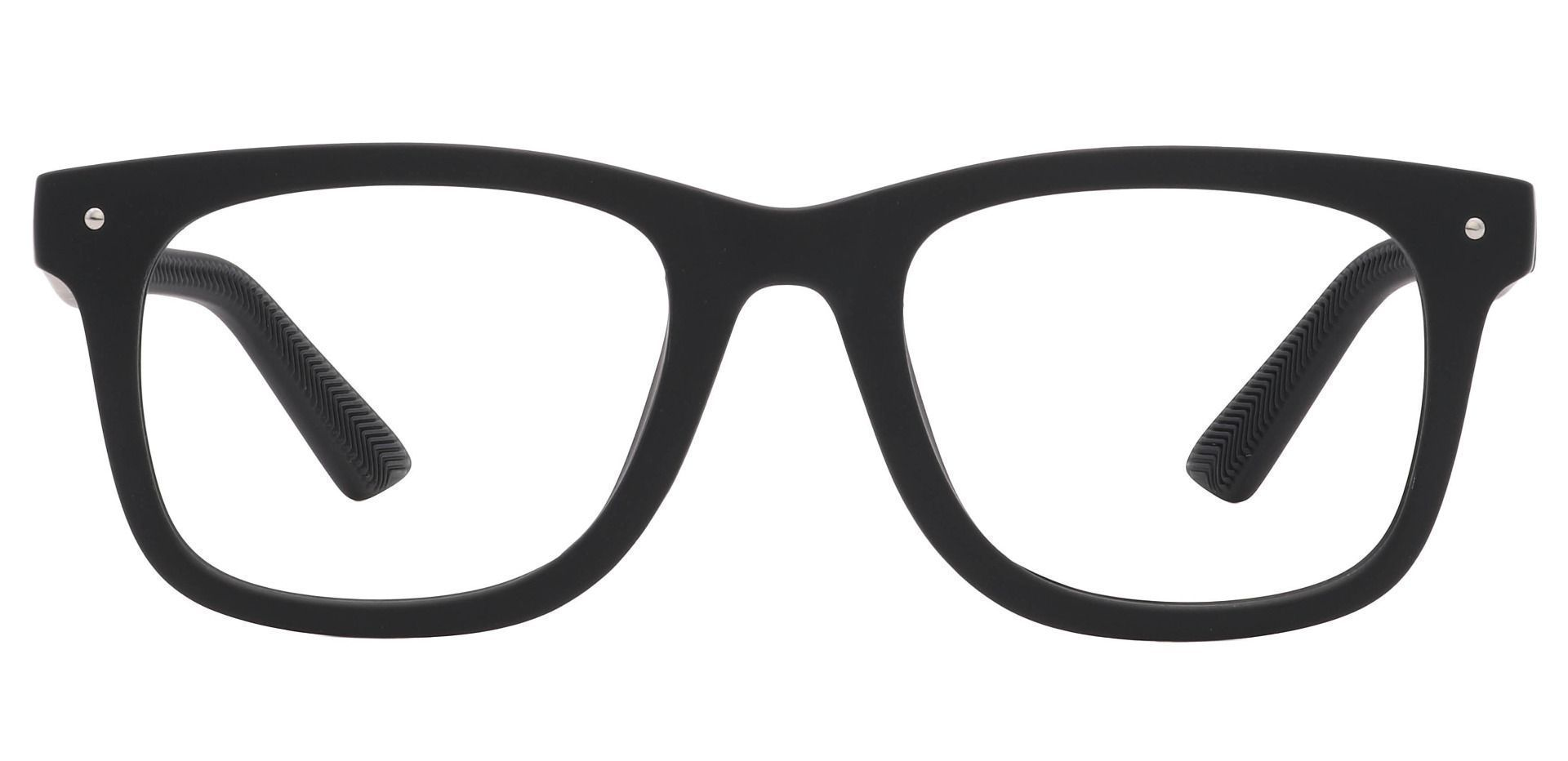 McKinley Square Prescription Glasses - Black