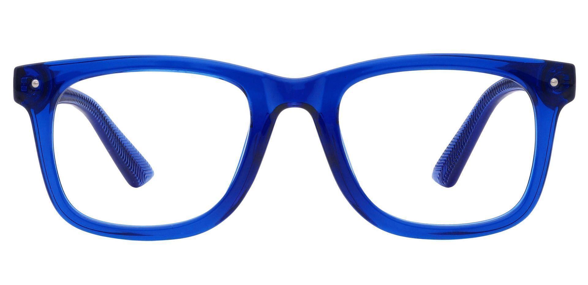 McKinley Square Prescription Glasses - Blue