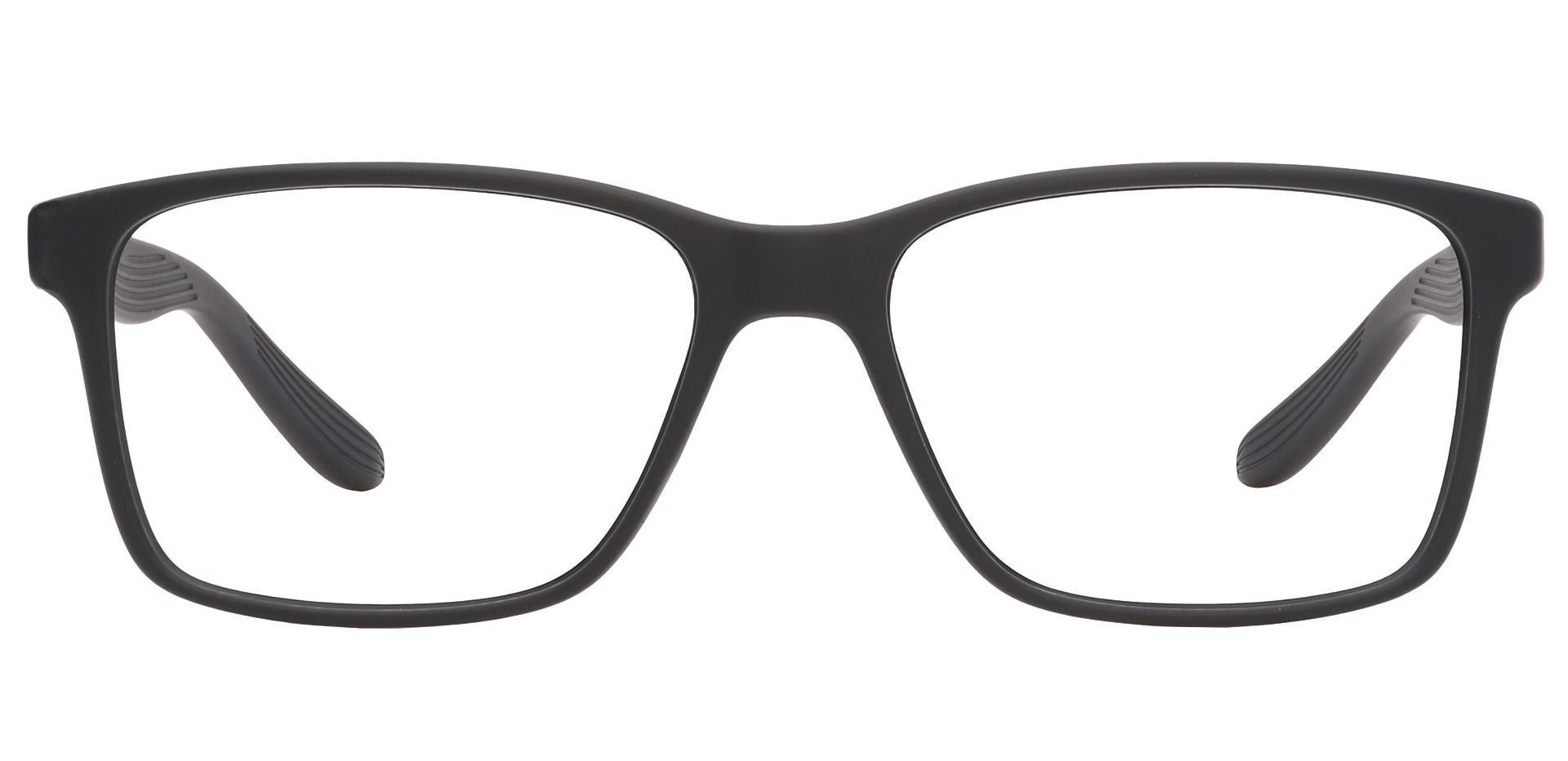 Berlin Rectangle Prescription Glasses -  Matte Black