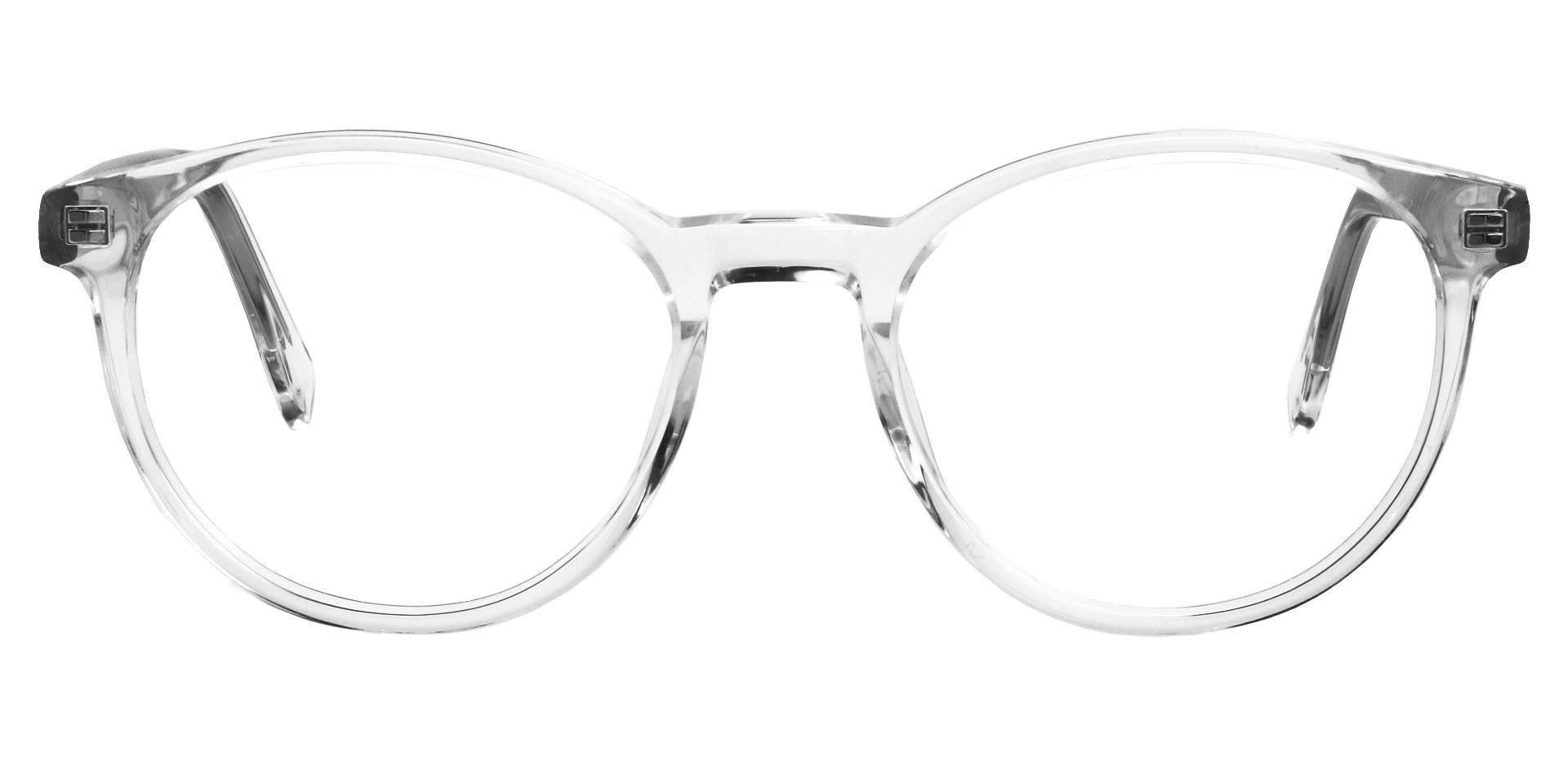 Stellar Oval Prescription Glasses - Clear