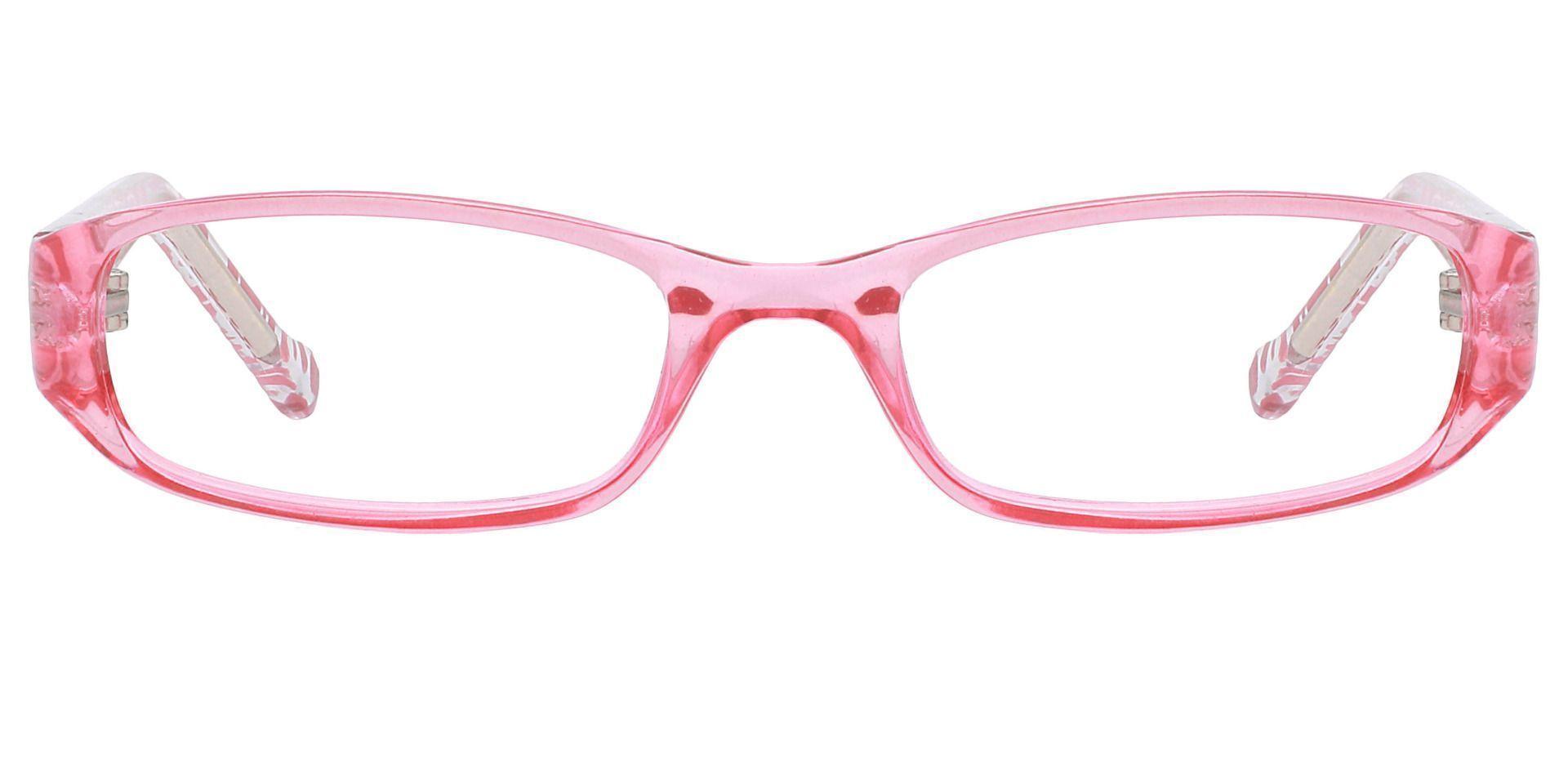 Laurel Rectangle Eyeglasses Frame - Pink